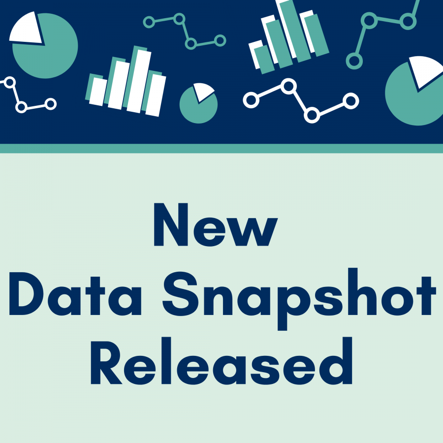 New data snapshot released, with icons of different types of charts