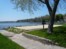 Image: Lake Mendota County Park - beach is open