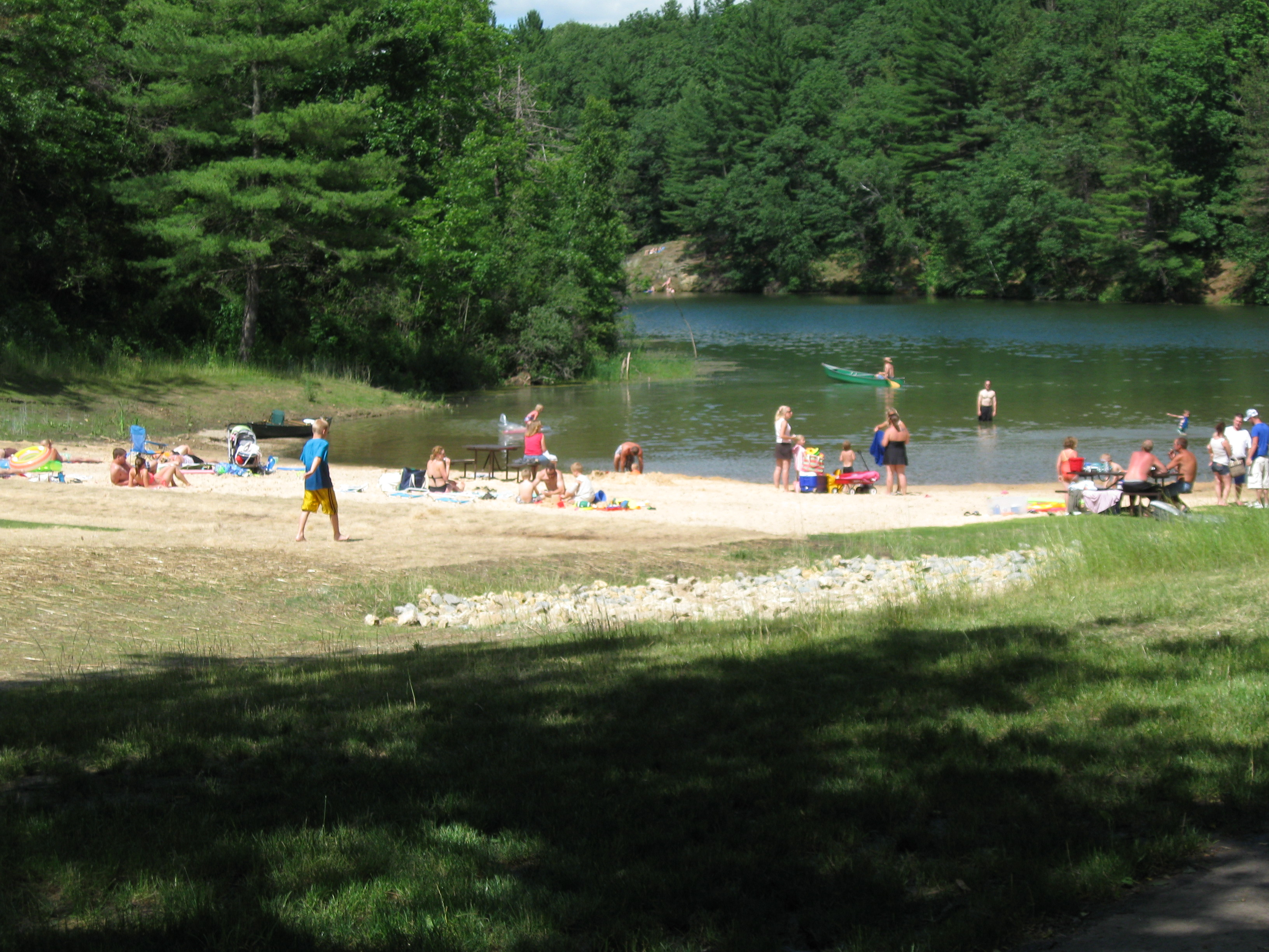 Image: Stewart County Park - beach is open