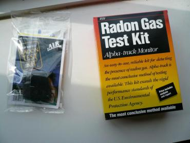 Get a radon test kit to test your home.